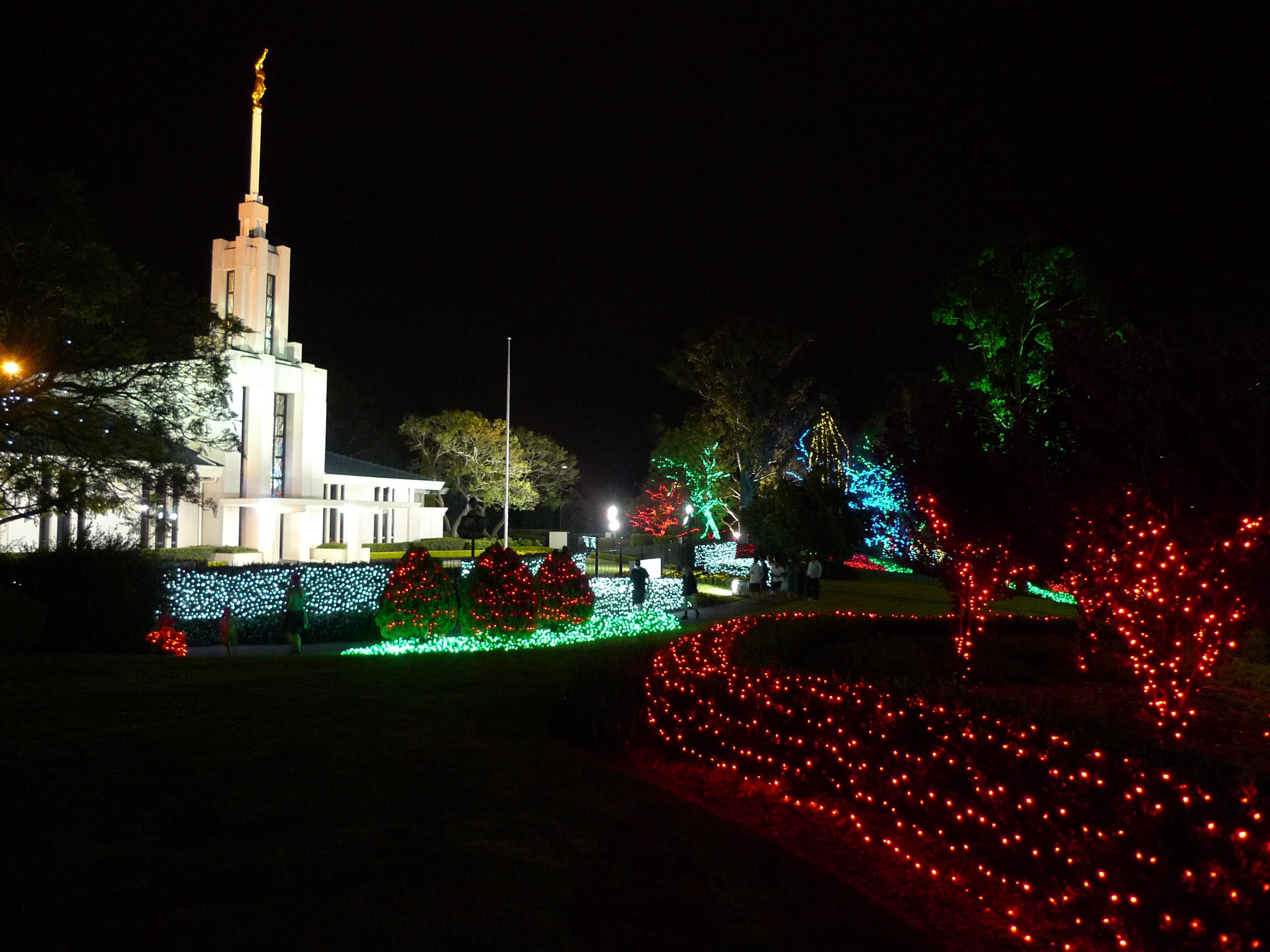 Christmas Lights and the Life of Jesus Christ to Shine Again