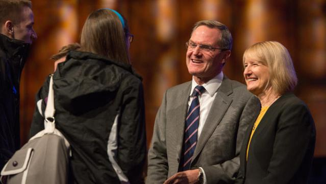 Elder Peter Meurs Speaks at BYU-Idaho