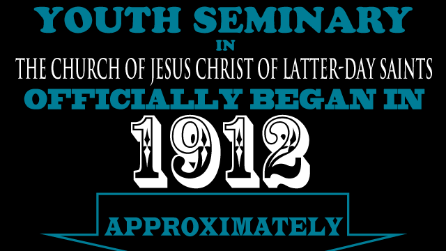 Youth Seminary 3 Infographic
