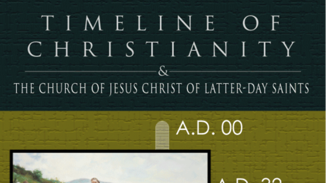 mormon lds church timeline christianity Infographic