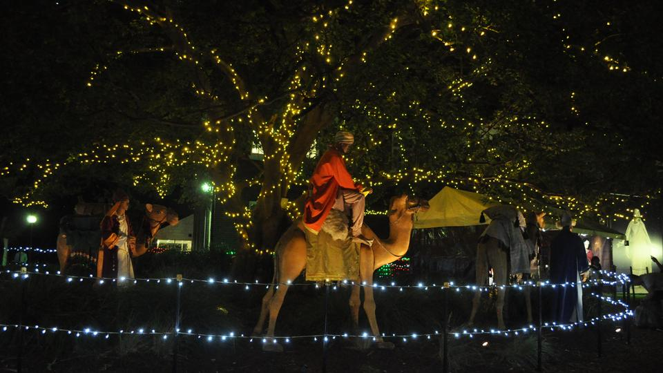 Christmas Lights and the Life of Jesus Christ to Shine Again