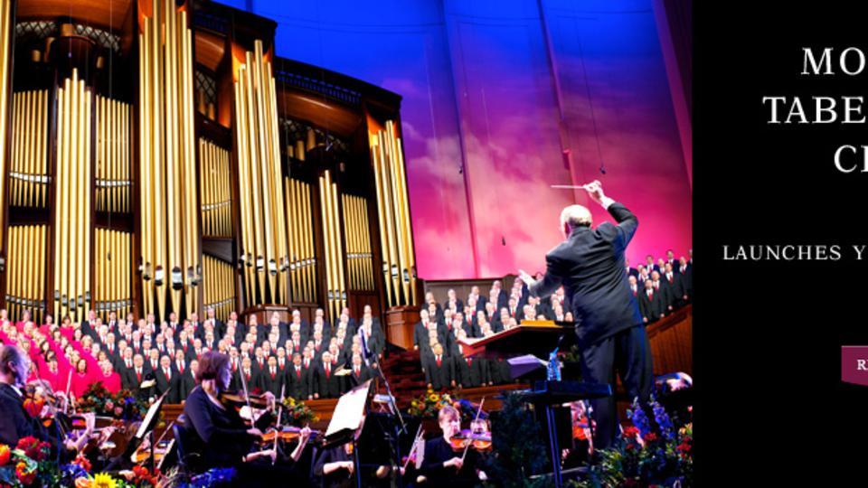 Mormon Tabernacle Choir YouTube Channel Strikes Chord